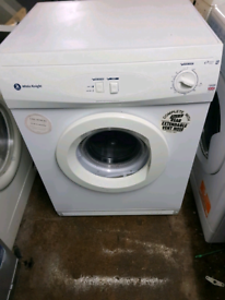 WHITE KNIGHT TUMBLE DRYER(VENTED)(6KG)(VENT PIPE INCLUSIVE)