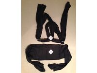 Close baby carrier in charcoal. With DVD instructions