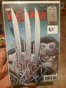 Weapon H #1 variant cover NM