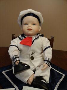 Ashton Drakes MATTHEW Porcelain Doll
