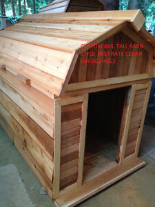 Dog houses 4 sizes