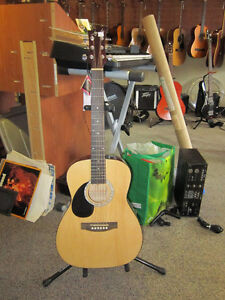 AY JR Size 6 String Acoustic Guitar With Tags