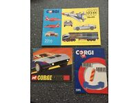 Corgi catalogue 2016-1985-1970