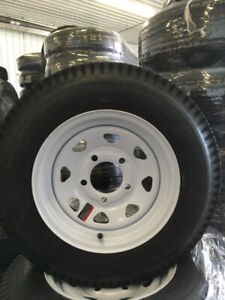 NEW ST175/80/R13 5 BOLT (6PLY) MOUNTED ON STEEL RIMS FOR SALE