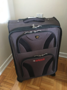 Swiss Gear Grey Carry-on Luggage