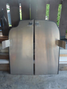 Stainless Steel Partition Panels - Chevy Express Van