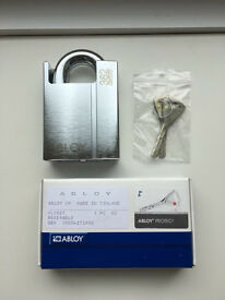 Abloy 362 Padlock. RRP - £210. Use with Almax Chain