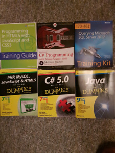 Computer programming reference books