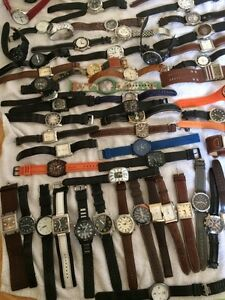 70 Assorted watches, steal deal