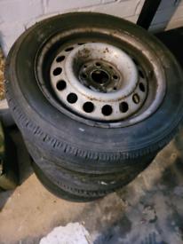 """Vw steel wheels 14"""""""