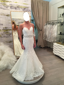 Morilee Lace Wedding Gown