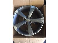 "Audi -vw 19"" rotor alloy wheels 5x112"