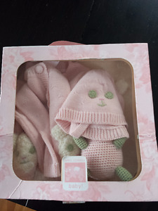 April Cornell Three Piece Baby Set - NEW in Box