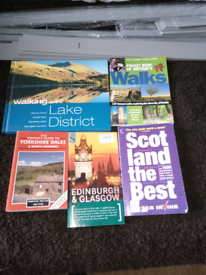 Selection of walk books