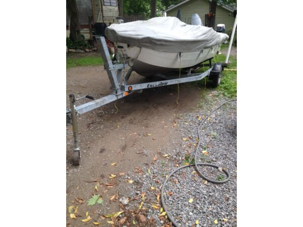 Used 1995 Starcraft 14ft alum boat