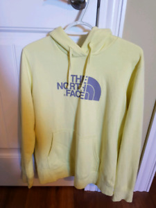 Yellow The North Face sweater