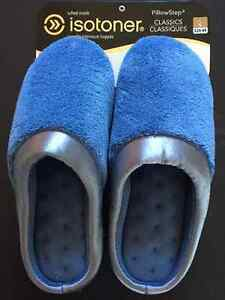 **NEW BLUE WOMEN'S ISOTONER SLIPPERS FOR SALE~SIZE 8.5**