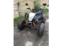 BASHAN 200cc ROAD LEGAL QUAD 2008 12 MONTHS MOT