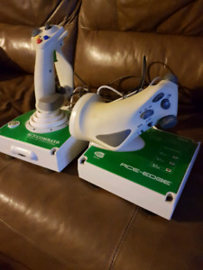 Xbox 360 flight simulator controllers
