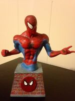 Spider-Man mini bust - just over five inches tall