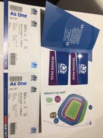 Scotland Rugby (Silver) Season Tickets 2017/18 x 2