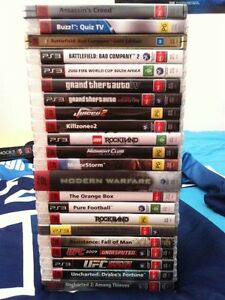 Buying PS3 Games Collection for 40$! Kitchener / Waterloo Kitchener Area image 1