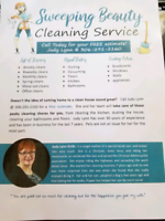 Sweeping beauty cleaning services