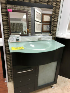 "$349 only!! $ALE 30"" Modern vanity set demo!!!"