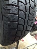 Set of 2 RADIAL Winter tires 215/70/16  call;(514)777-6421