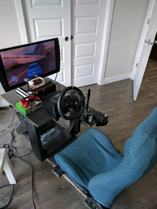 Xbox one, Logitech g920, hydro e-brake, manual shifter..