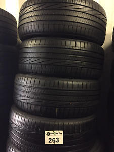 4 P245/45/19 Goodyear Eagle RSA2 tires installed and balanced!