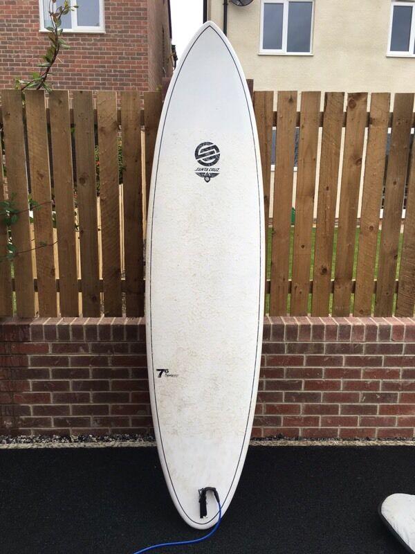 Santa Cruz Pumpkin Seed Surfboard 7 Quot 6 In Amble