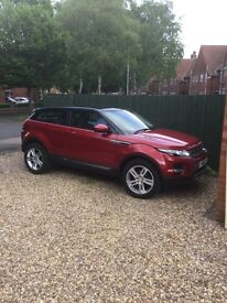 Range Rover Evoque 2.2 4WD 64 plate with low mileage