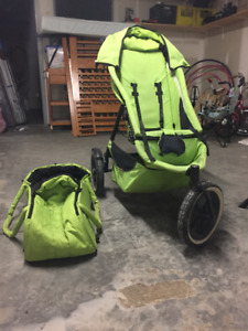 Phil & Ted pushchair and baby bag