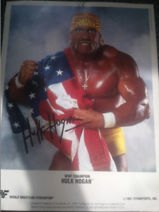 WWF WRESTLING COLLECTABLES >>STILL HERE<