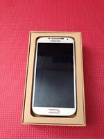 Samsung S4 white silver Open to all network