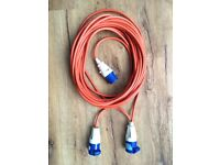 Electric cable for caravan