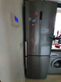 SAMSUNG Fridge Freezer Stainless Steel Style
