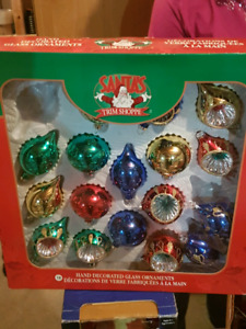 Brand crafted glass Christmas ordermintes