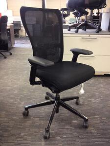 ergonomic chair -Haworth Zody Black-$350