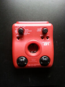 Zoom B1 bass effects pedal