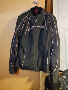 Woman's Harley Davidson Riding Coat and Insert in Richmound, Sk