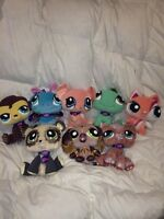 8 littlest pet shop stuffy's