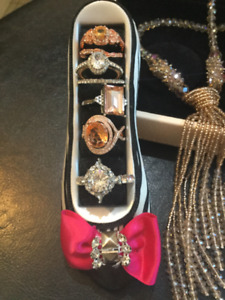 Sterling and Zircon JEWELRY 4 SALE!