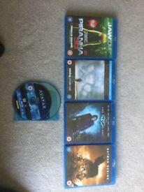 5 Blue Ray Movies - £150+ in value