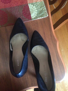 Black high heels, Franco Sarto from the Bay Kitchener / Waterloo Kitchener Area image 2