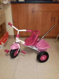 Kettler pink tricycle