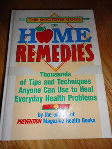 The Doctor's book of home remedies Hardcover book