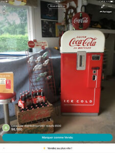 Machine distributrice vendo v39,  1949 comme neuve.
