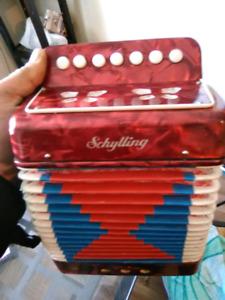 Kids accordion